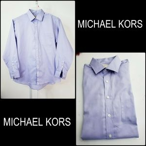 Michael Kors Men's Button Front Dress Shirt 16 1/2